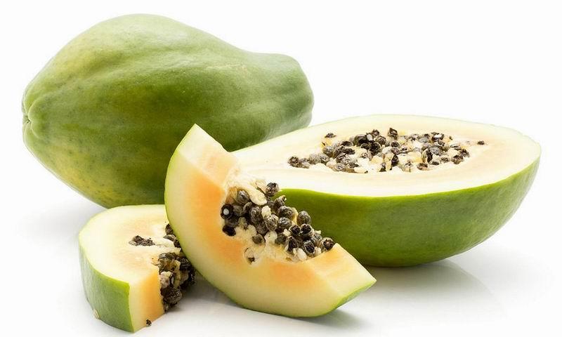 Contra forúnculos, nacidos y granos... fruta bomba