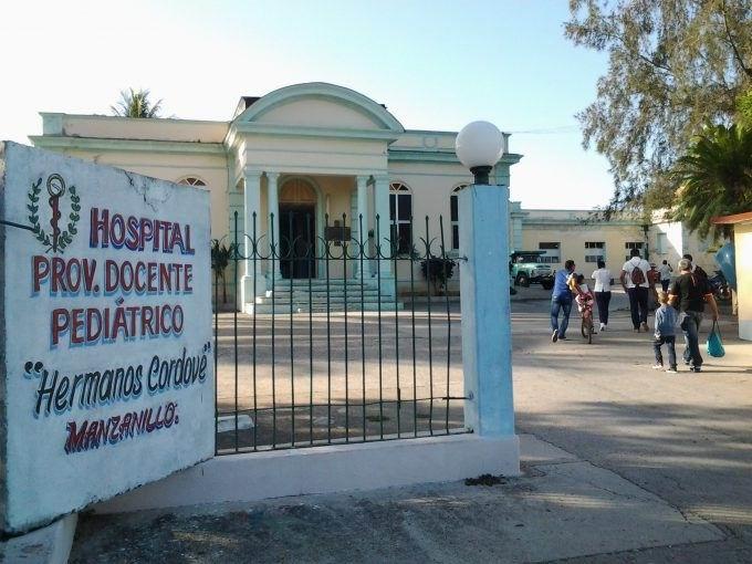 Hospital provincial pediátrico Hermanos Cordové, de la ciudad de Manzanillo
