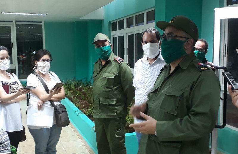En Audio: Listo nuevo hospital en La Habana para el combate contra la Covid-19