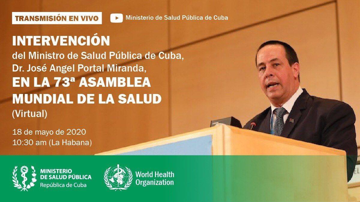 Intervendrá Cuba en 73 Asamblea Mundial de la Salud
