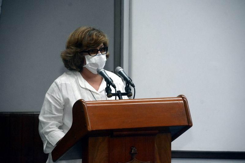 Maricela Díaz, directora de Ciencia y Técnica, Innovación y Medio Ambiente del MINAGRI