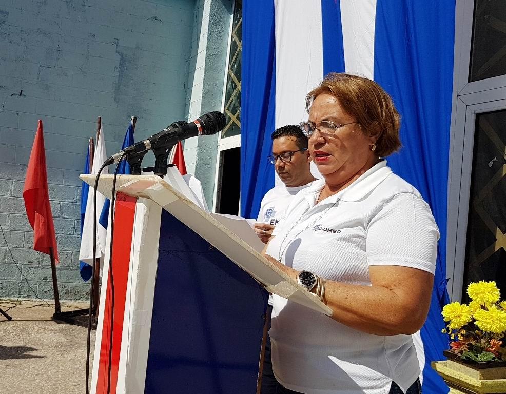 Secretaria General del Buró Sindical de EMCOMED en Las Tunas, Marlenis Borrego