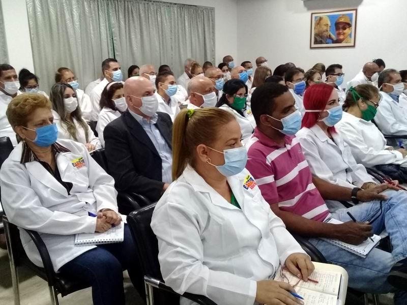 En Audio: Aplican protocolo cubano venezolano ante la Covid-19