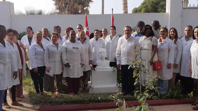 Cuban medical brigade in Gambia condemns US discredit campaign