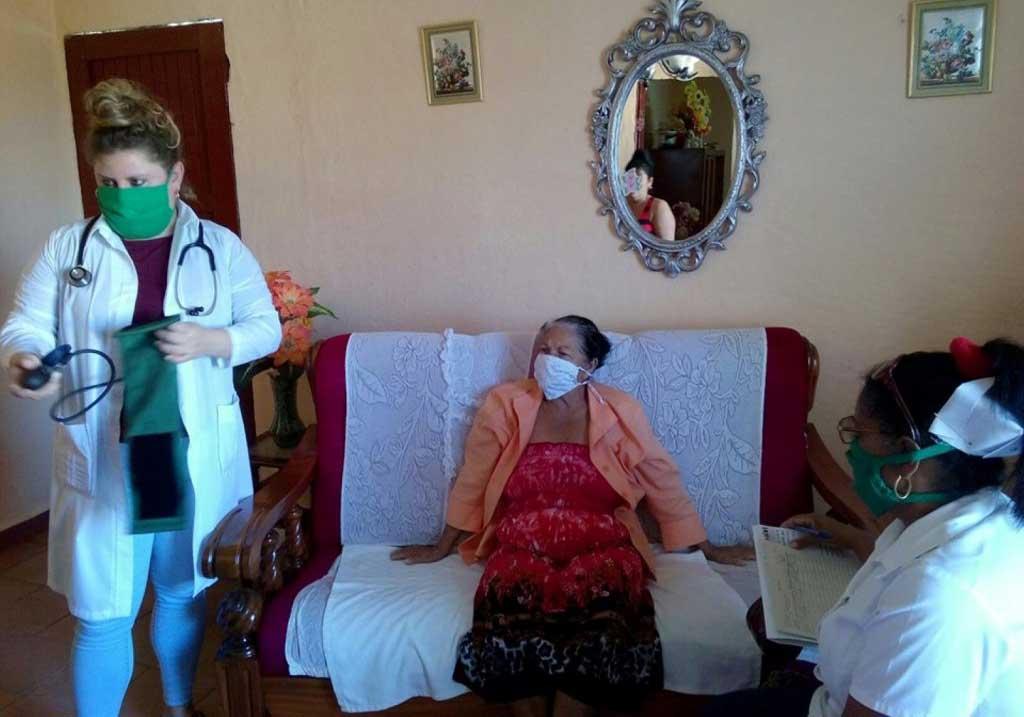 Atención Primaria de Salud: principal escenario de enfrentamiento a la COVID-19 en Cuba. Foto: Escambray