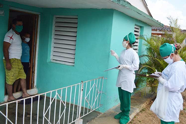 Atención Primaria de Salud: principal escenario de enfrentamiento a la COVID-19 en Cuba. Foto: PL