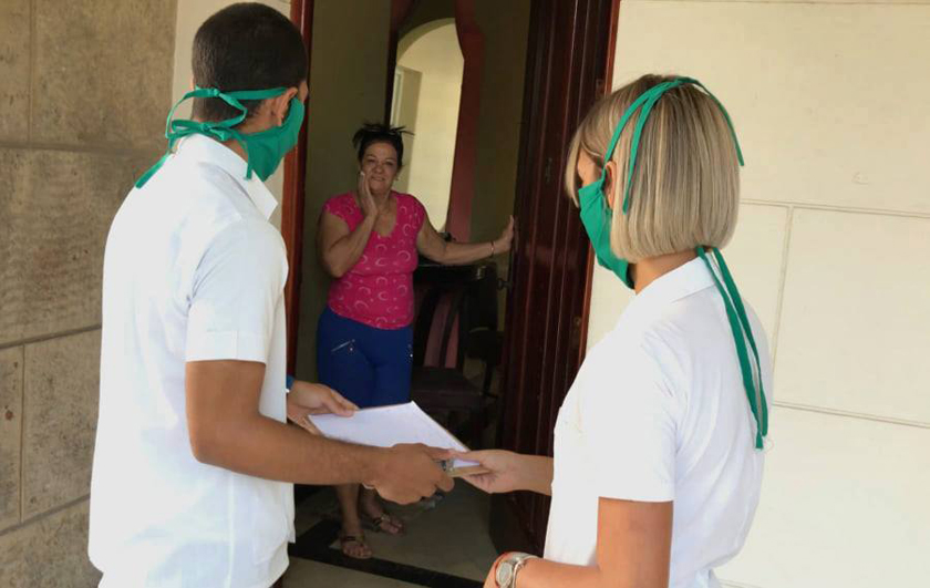 Estudiantes de Ciencias Médicas, entre la docencia y la COVID-19