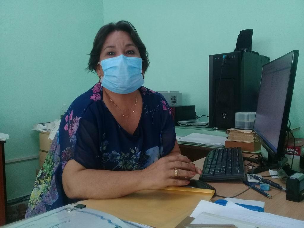 Doctora Marlene Nuevo Pi, hoy vicerrectora académica de la Universidad de Ciencias Médicas de Granma