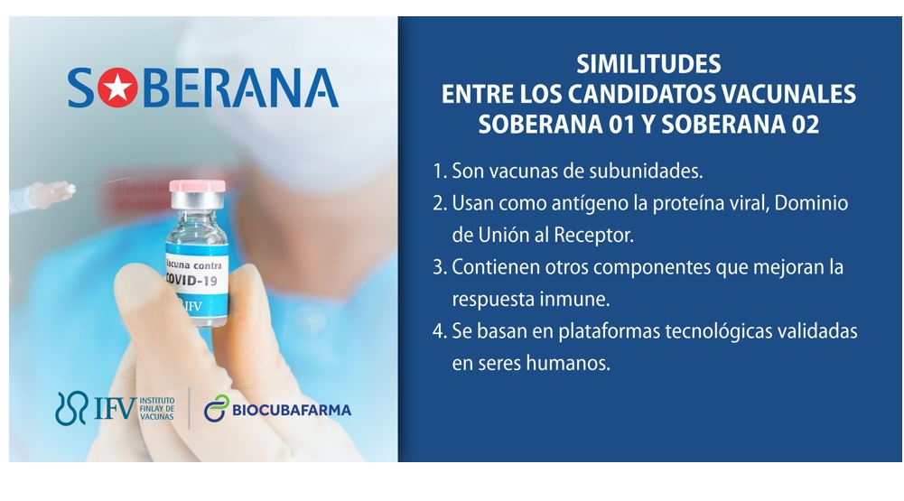 Aprueban a candidato vacunal cubano Soberana 02 para fase I de ensayos clínicos