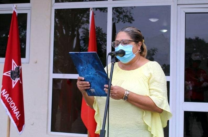 Doctora Tania Blanco, Secretaria Provincial del Sindicato de la Salud