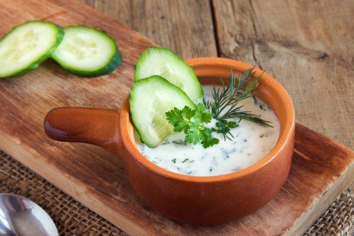 Desde Bulgaria, Tarator, una sopa para refrescar