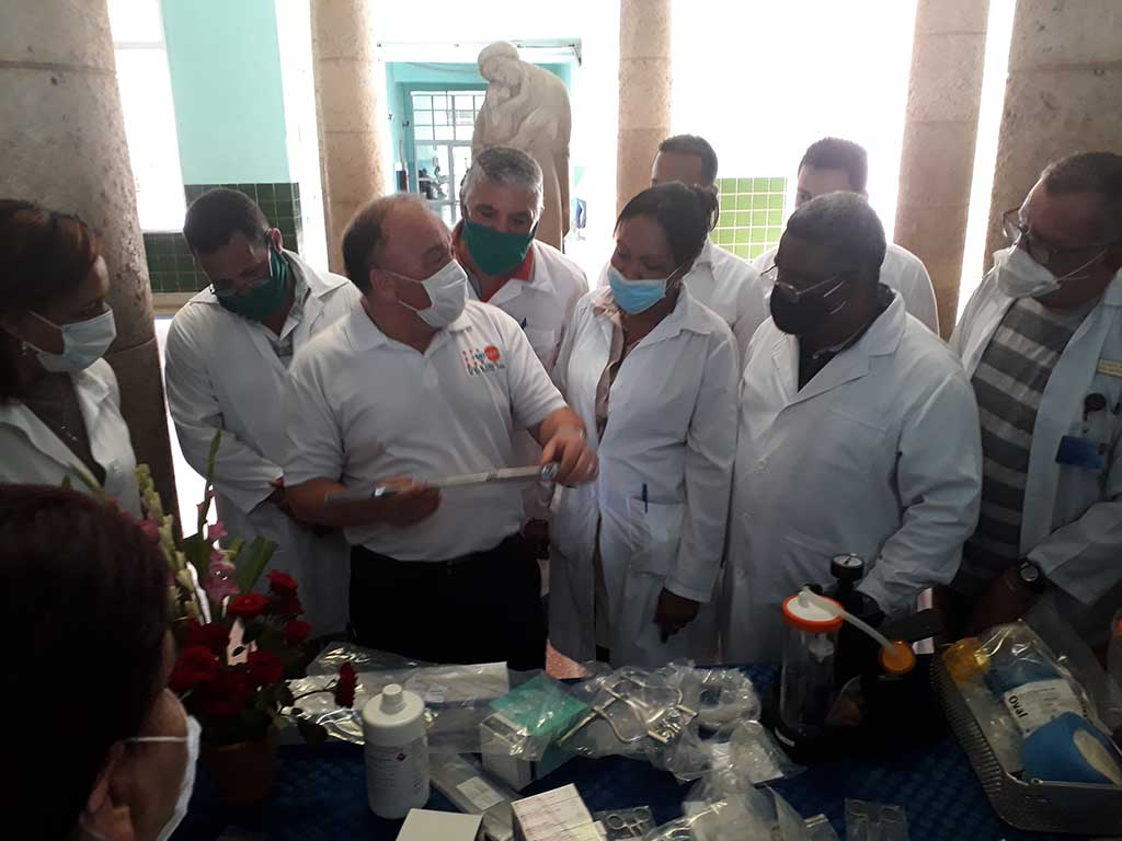 UNFPA Delivers Donations to Cuban Obstetric Hospitals