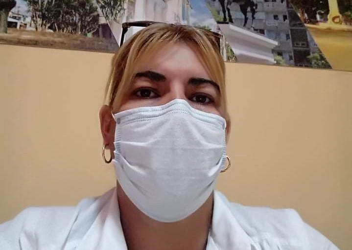 En Audio: La Dra. Yaima Mirabal no transmitió la COVID-19