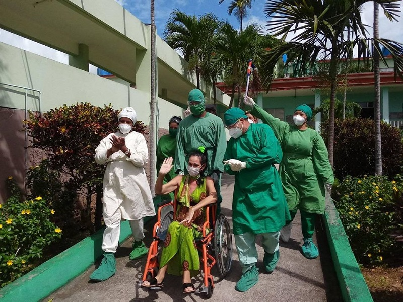 Yaquelín Collado Rodríguez es la paciente cubana que permaneció más tiempo en una unidad de cuidados intensivos (UCI) enferma con la COVID-19