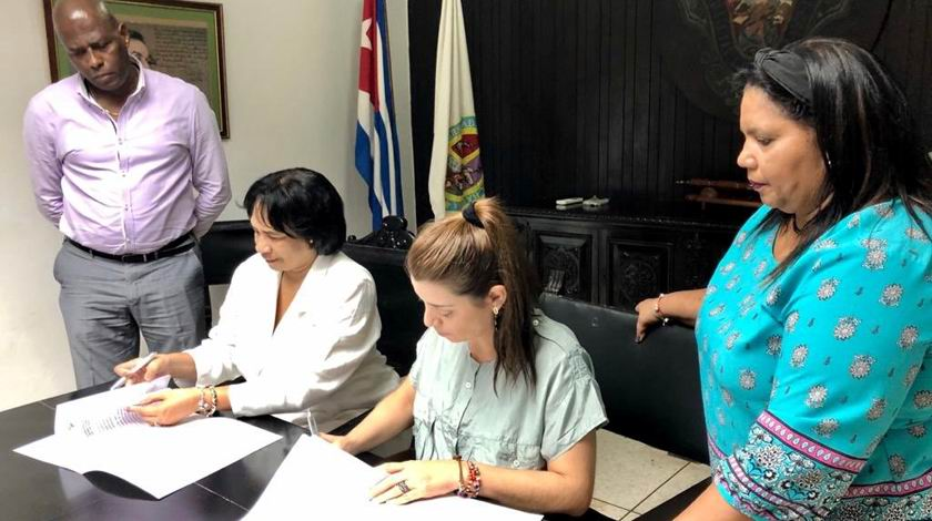 Havana University and Telesur sign cooperation agreement