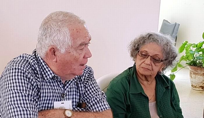 Froilán González y Adys Cupull