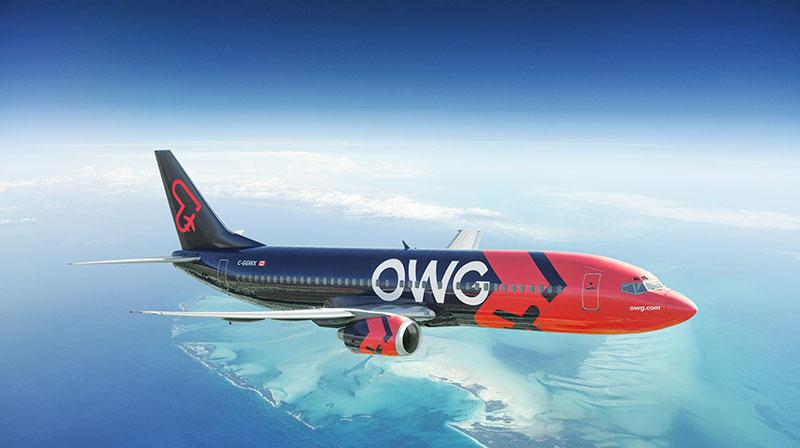 Anunció aerolínea canadiense que Cuba será el destino inaugural de sus vuelos