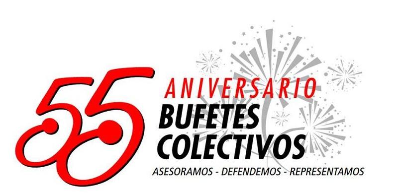 Arriba Organización Nacional de Bufetes Colectivos a su 55 aniversario