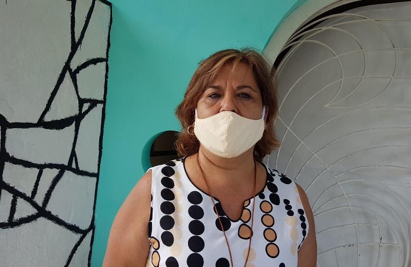 Directora del Fondo Cubano de Bienes Culturales en Camagüey, Belquis Cruz Zaragoza.