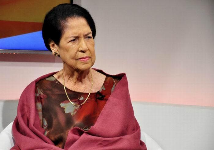 Fallece destacada revolucionaria y pedagoga Asela de los Santos (+VIDEO)