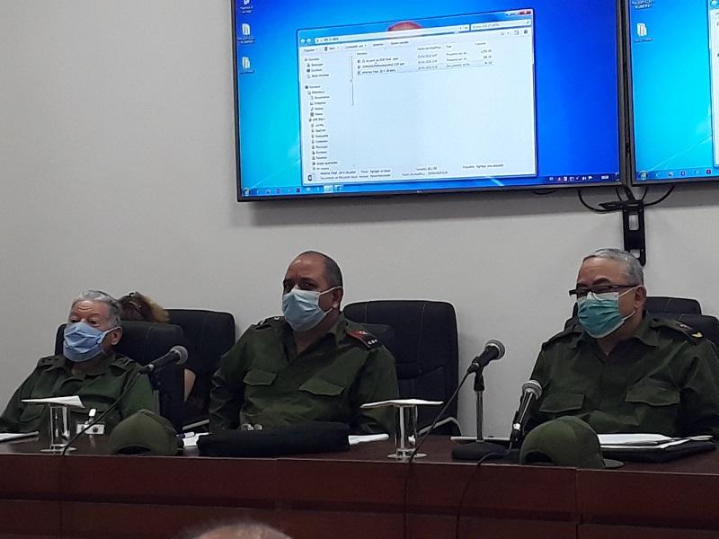 Asistió Pardo Guerra a reunión del Consejo de Defensa en La Habana