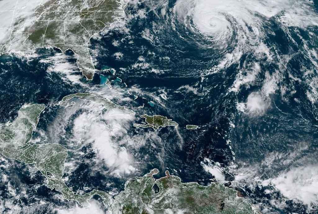 Continuarán las lluvias este fin de semana en todo el territorio nacional