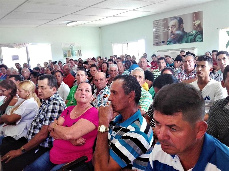 Los campesinos de Mayarí celebran su Congreso