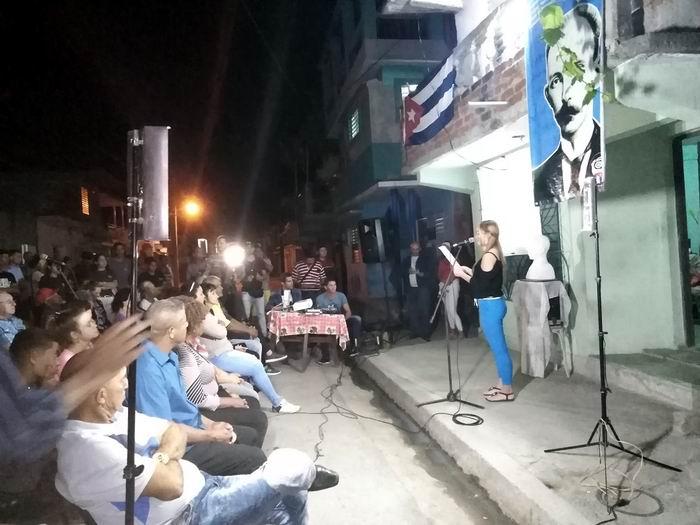 En Audio: Celebran en Las Tunas Barrio Debate inspirado en José Martí