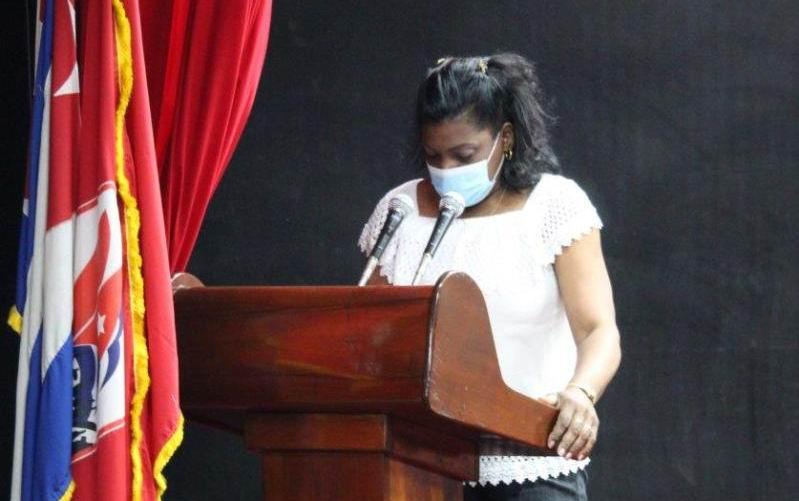 Gobernadora de Santiago de Cuba, Beatriz Jhonson Urrutia