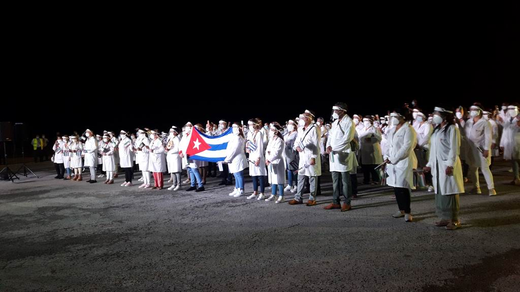 En Audio: Brigada Médica Henry Reeve cumple con éxito misión en Kuwait