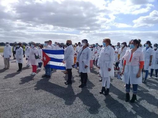 Se despide de Perú Brigada cubana que colaboró en el enfrentamiento a la COVID-19