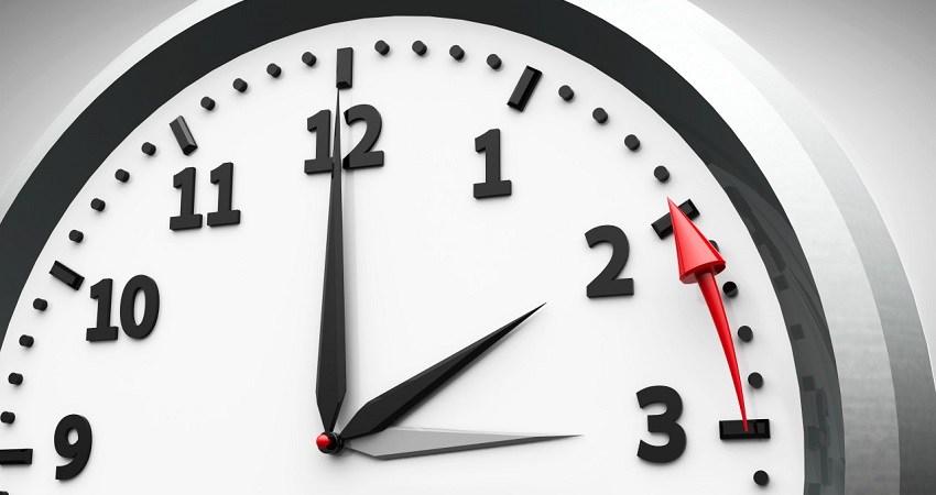 Se restablecerá el horario normal el primero de noviembre