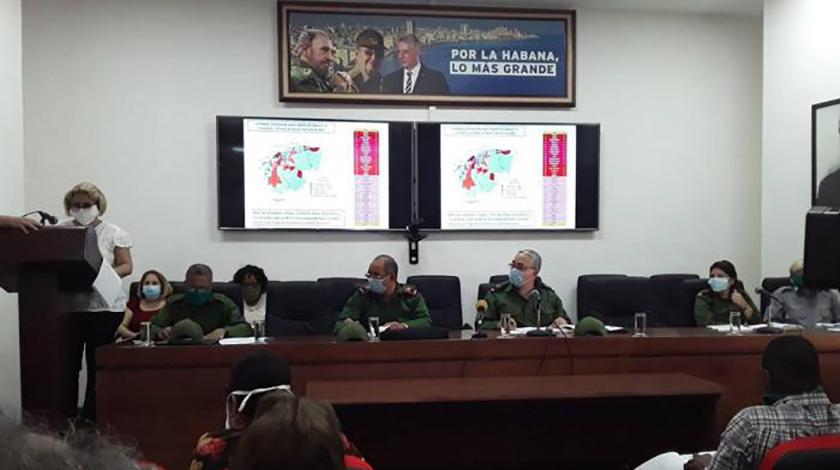 Incrementarán medidas en zonas de la capital cubana frente a Covid-19