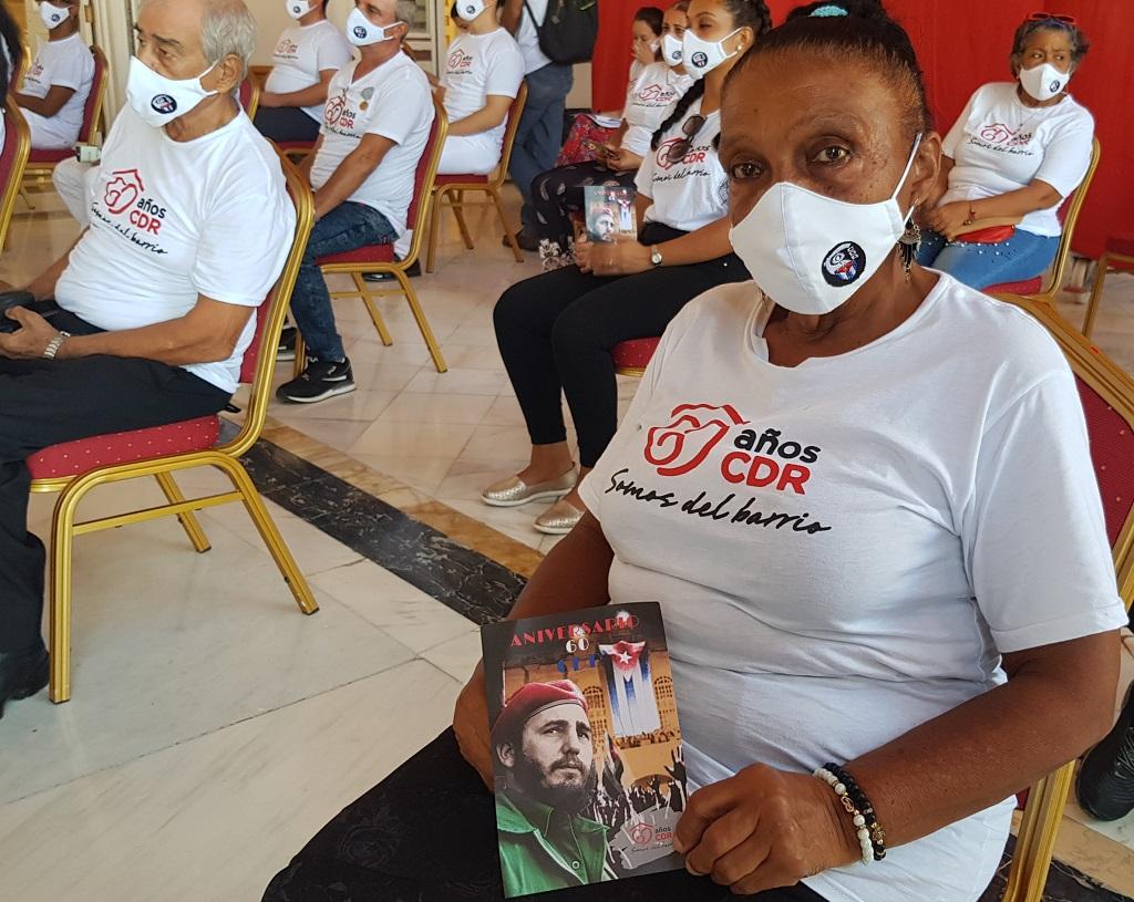 Ratifica Machado Ventura confianza del Gobierno cubano en los CDR