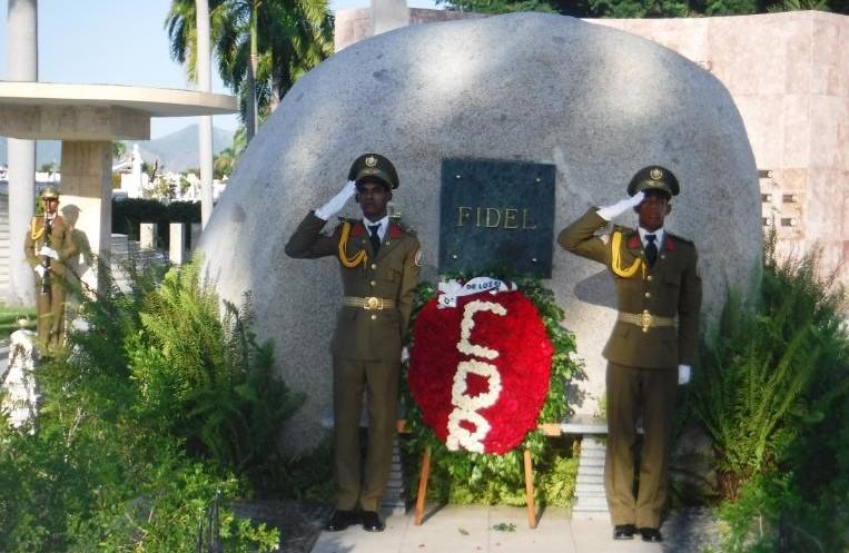 En Audio: Rinden los CDR homenaje a Fidel