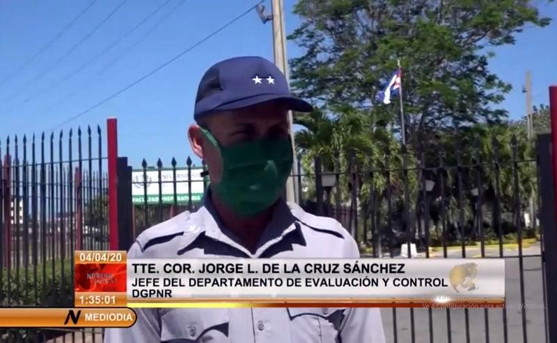 Garantiza la PNR seguridad de centros de aislamiento en La Habana