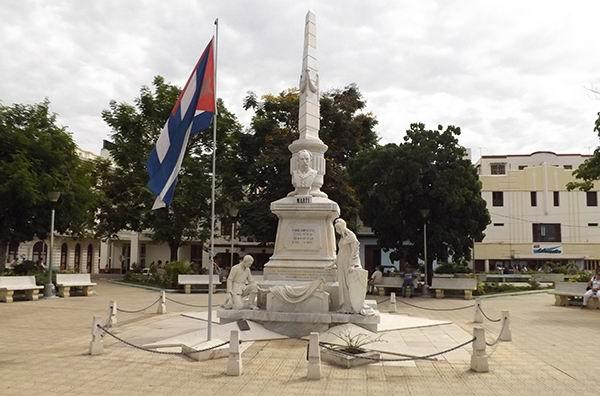 Parque José Martí en Palma Soriano, Cuba