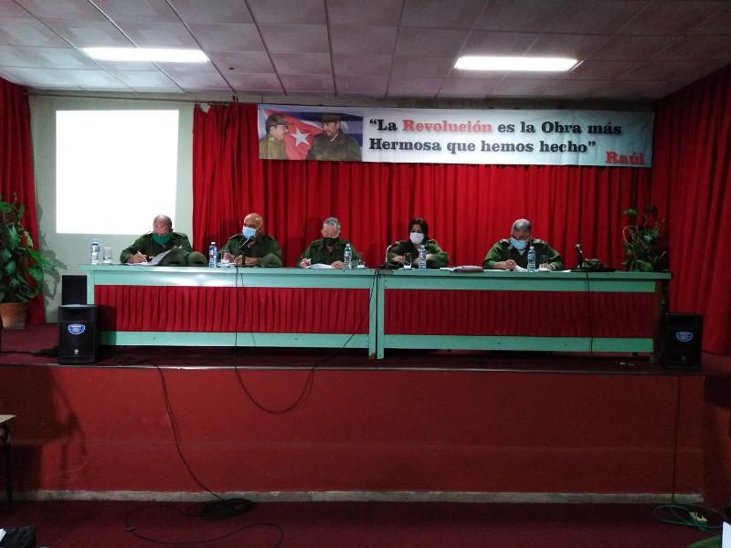 Chequea General de División Ramón Pardo Guerra, plan de medidas de enfrentamiento a la Covid-19 en Pinar del Río