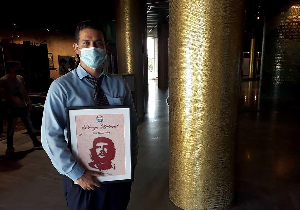 Reconocen labor de trabajadores de Transtur en enfrentamiento a la pandemia