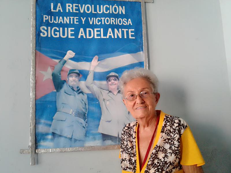 En Cienfuegos, María Orquídea feliz por los 5 y el Premio del Barrio (+Audio)