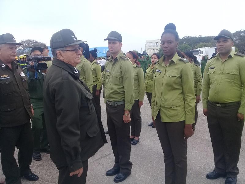 Inician Combatientes del MININT Año de preparación (+FOTOS)
