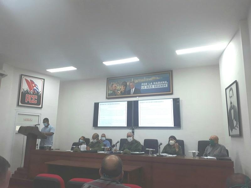 Consejo de Defensa en La Habana: compromiso y trabajo frente a la Covid-19