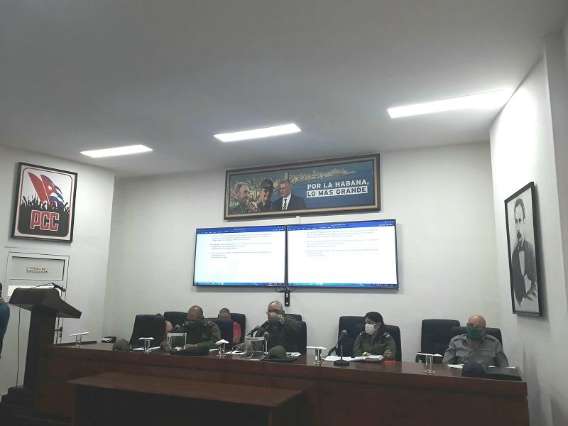 """Consejo de Defensa de La Habana: """"Hay que seguir haciendo todo y más"""""""