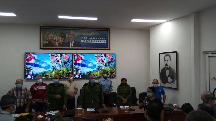 La Habana evalúa medidas ante situación meteorológica
