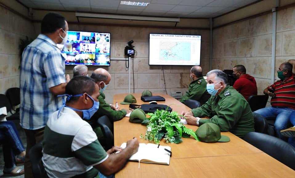 En Pinar del Río, la tarea principal es proteger a las personas (+Video)