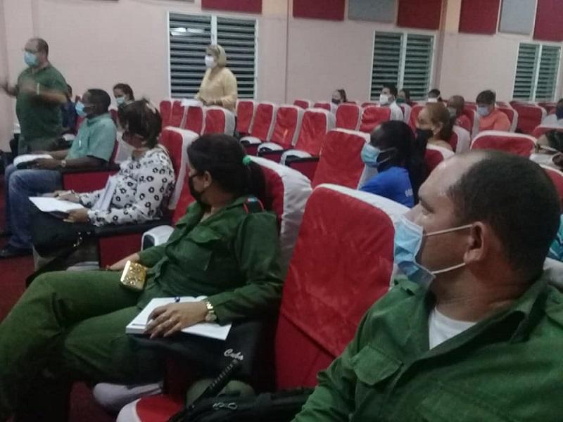 Analizan situación epidemiológica en el municipio La Lisa