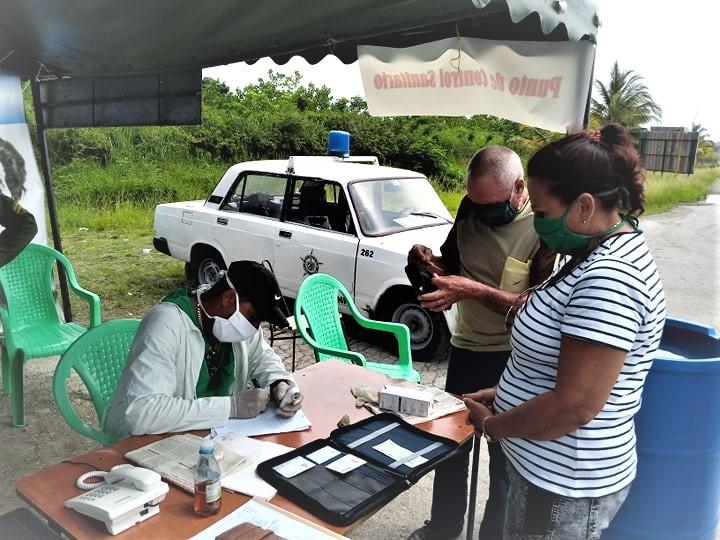 Villa Clara adopta rigurosas medidas en los puntos de control sanitarios