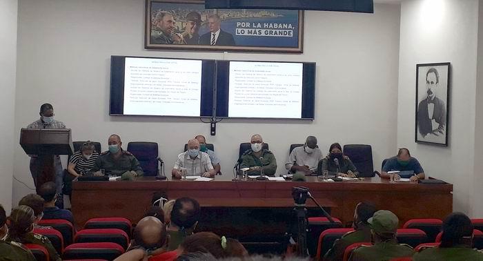 En Audio: Informa Consejo de Defensa de La Habana nuevas medidas frente a la Covid-19