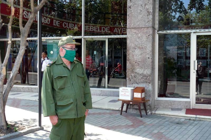 A raya el SARS-CoV-2 en Santiago de Cuba