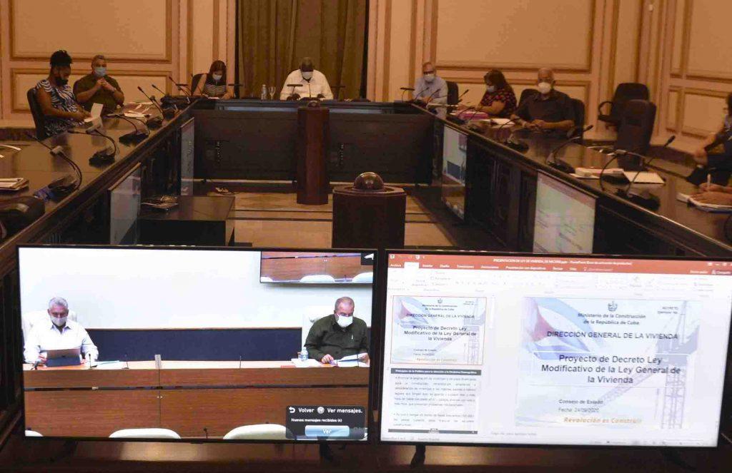 Sesiona el Consejo de Estado